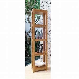 Colonne D Angle Salle De Bain : colonne de salle de bain teck java ~ Teatrodelosmanantiales.com Idées de Décoration