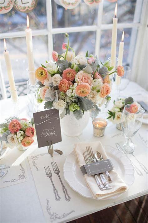 impressive wedding table setting ideas modwedding