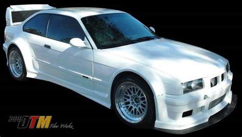 bmw 3 series 2dr dtm fiberwerkz gtr race style wide kit e36 gtr race