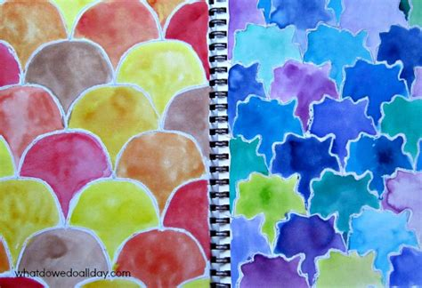 easy    groovy tessellations  kids