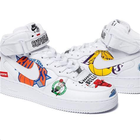 Supreme Shoes by Supreme Shoes Nike Nba Air 1 Mids White Poshmark