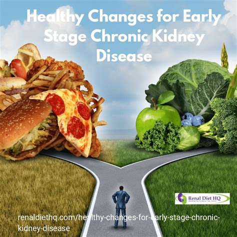 A diabetes diet is based on eating three meals a day at regular times. Healthy Changes for Early Stage Chronic Kidney Disease ...