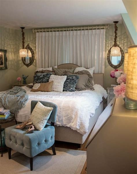 decoration de la chambre romantique  idees shabby chic