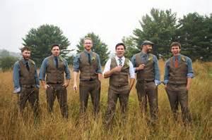 Rustic Wedding Groomsmen Attire