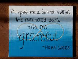Hazel Grace Fault in Our Stars Quotes
