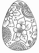 Easter Coloring Kleurplaat Pasen Kleuren Ei Volwassenen Paasei Mandalas Egg Pascoa Leuke Colorir Printable Paques Imprimir Thema Desenhos Eggs Pascua sketch template