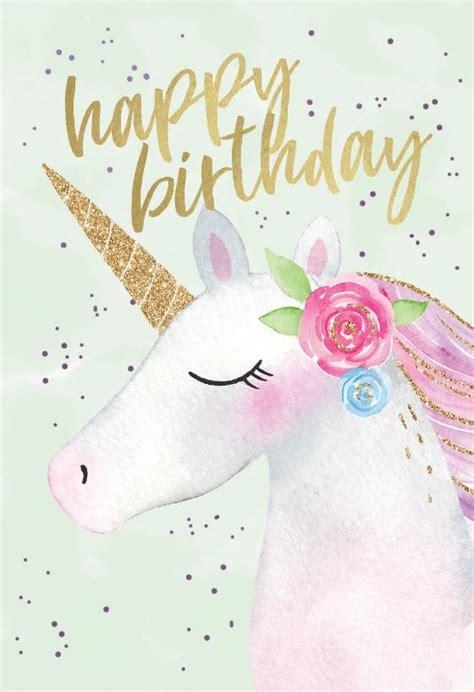 happy 1st birthday card template happy unicorn birthday card free birthday happy