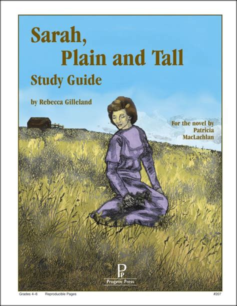 Sarah, Plain And Tall Study Guide (009309) Details  Rainbow Resource Center, Inc
