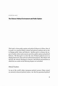 Start reading Public Opinion and Political Change in China ...