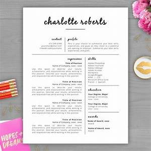 creative resume resume templates word and design on pinterest With free cute resume templates