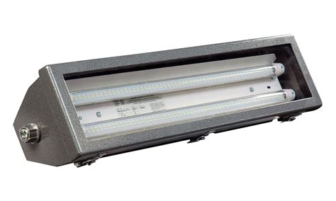 two foot explosion proof led light fixture released by