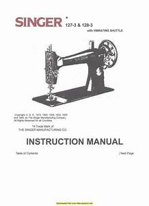 How To Thread A Singer 6210 Machine Manual