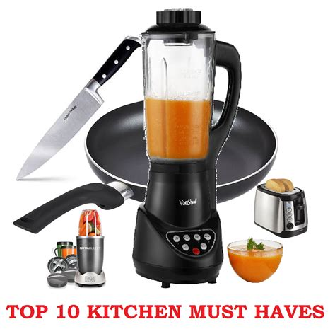 Top 10 Kitchen Must Haves  [must Have Items In Your Kitchen]