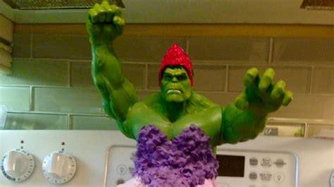 mom breaks superhero mold  baking incredible hulk