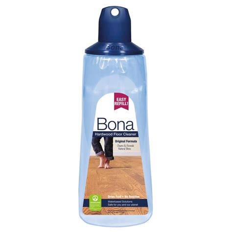 bona floor cleaner bona 34 oz hardwood floor cleaner refill cartridge