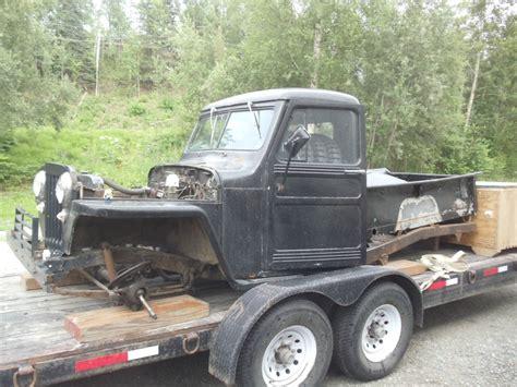 willys  door truck project  sale  wasilla ak