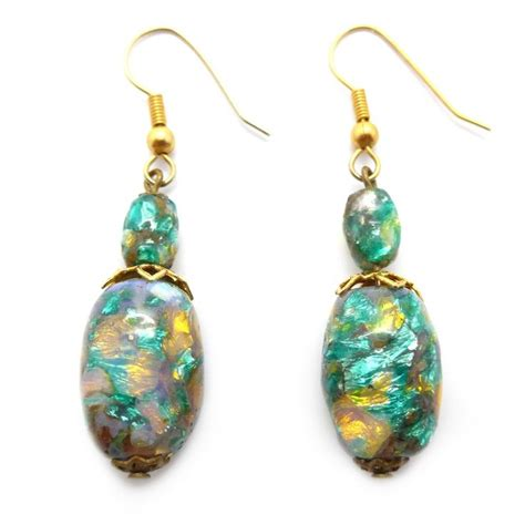 17 best images about vintage costume jewellery earrings on jade earrings vintage