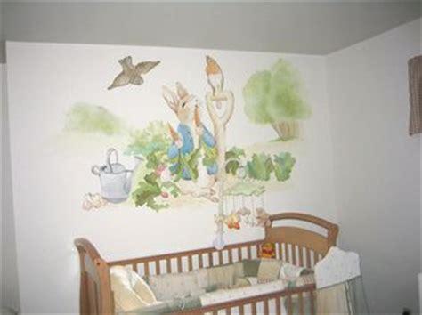 peter rabbit nursery mural hand painted murals