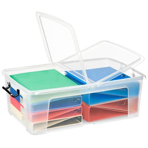 boite plastique cuisine cep strata boite de rangement plastique 50 litres