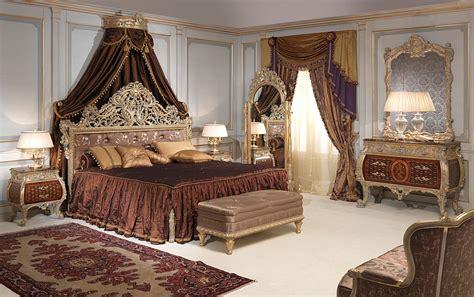 emperador gold bedroom in louis xv style