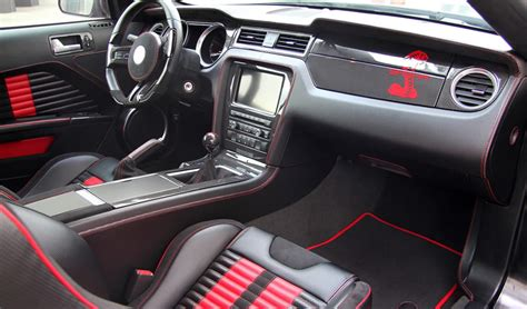 mustang shelby gt 500 interieur germany ford shelby gt500 mustang venom edition custom