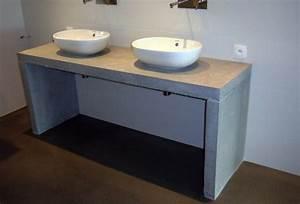 plan de travail salle de bain romain serve With salle de bain plan de travail bois