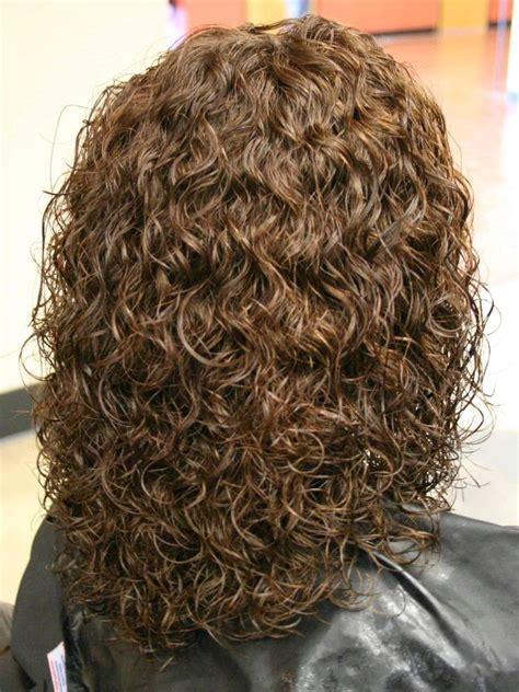 aspen salon perm curls  hot iron curls