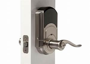Vivint automatic door locks vivintblog for Automatic door lock for home