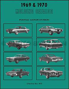 1970 Pontiac Gto  Lemans  Tempest Wiring Diagram Manual Reprint
