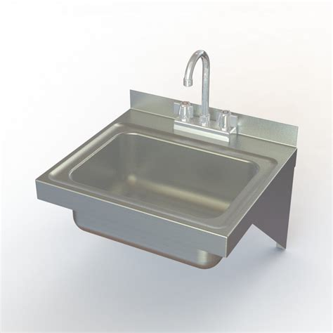 stainless wall mount sink aero manufacturing hsef wall mounted stainless steel hand