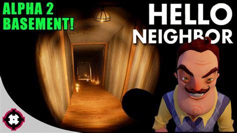 basement ending reaction beating hello neighbor hello