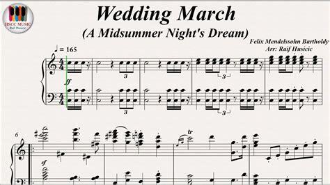 Wedding March (a Midsummer Night's Dream)