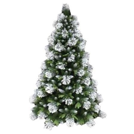 snow covered artificial christmas trees 1 8m white snow flocked artificial christmas tree 8333