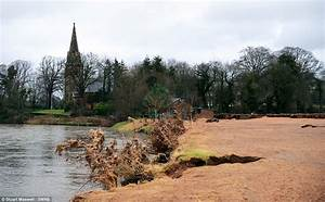 Flooding in Cumbria dumps thousands of tons of sand onto ...