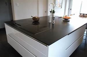 Cuisine quartz noir for Decoration pour jardin exterieur 5 cuisine quartz noir