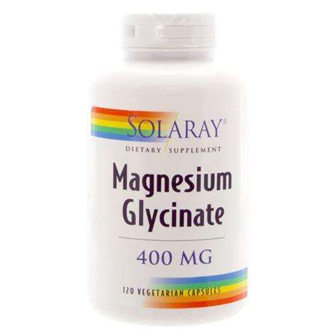 magnesium glycinate solaray