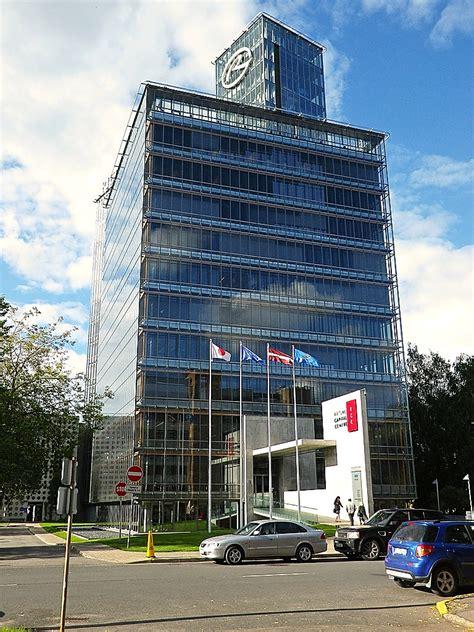 Rietumu Banka building on Vesetas Street in Riga, Latvia ...