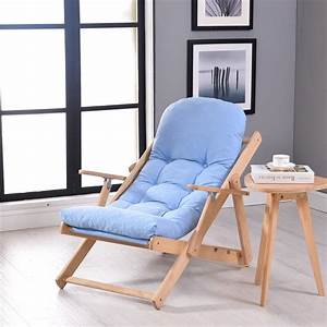 Soft, And, Comfortable, Lazy, Chair, Wooden, Foldable, Reclining, Chair, Folding, Chair, Recreational, Lunch
