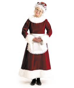 mrs santa claus outfits that are respectable halloween selections