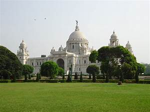 The Victoria Memorial, Kolkata, India