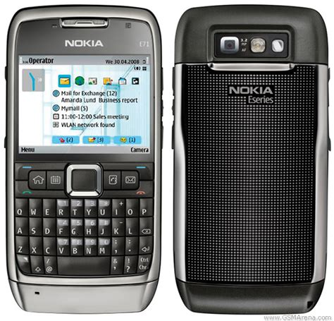 Nokia E71 pictures, official photos