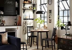 Table De Cuisine Ikea : d couvrez les plus belles tables de cuisine du moment elle d coration ~ Teatrodelosmanantiales.com Idées de Décoration