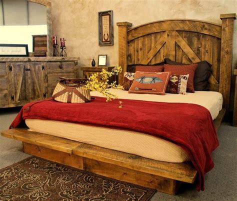 western rustic bedroom furniture ideas   house