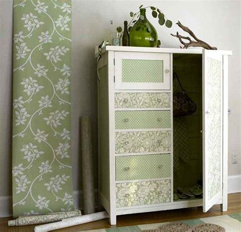 Wallpaper For Cupboard Doors 39 awesome uses for your wallpaper scraps the shabby