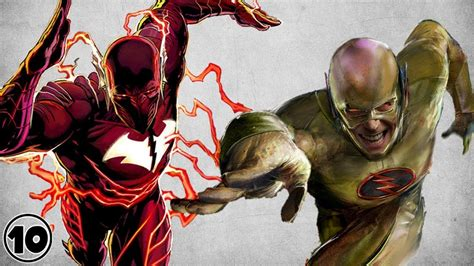 Best Flash Top 10 Evil Alternate Versions Of The Flash