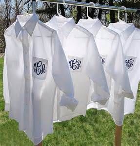 button bridesmaid shirts set of 5 monogrammed bridesmaid button shirt by monogramworks