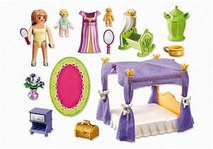 playmobil 6851 chambre de la reine avec lit a baldaquin With tapis chambre bébé avec comment envoyer des fleurs pour un deces