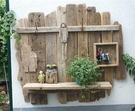 Garderobenständer Holz Selber Bauen by Diy Garderobe Aus Altem Holz Laffeln Und Gabeln Selber