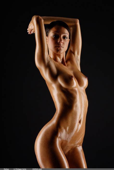 Melisa Sexy Oiled Body