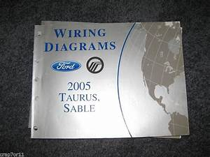 Purchase 2005 Ford Taurus Mercury Sable Wiring Diagrams Repair Service Manual Motorcycle In
